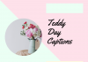 Teddy Day 2021 Captions, Quotes, Messages, Wishes & Greetings  - Teddy Day 2021 Captions Quotes Messages Wishes Greetings 100x70 - 10,000+ Instagram Captions 2021 – Boys, Girls, Friends, Wishes & Selfies