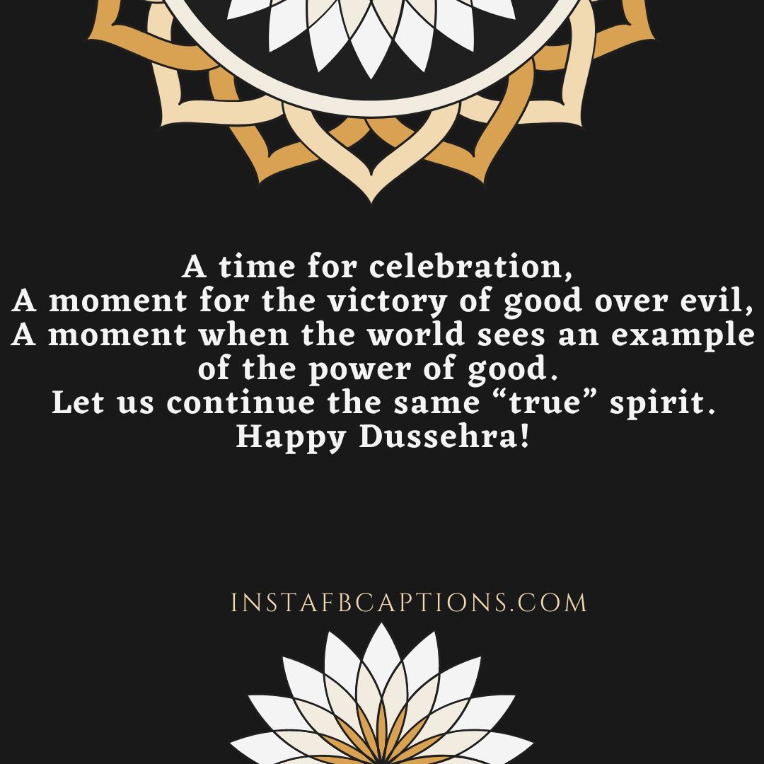 Dussehra Message Captions  - Dussehra Message Captions - 200+ DUSSEHRA Instagram Captions, Quotes & Wishes 2021