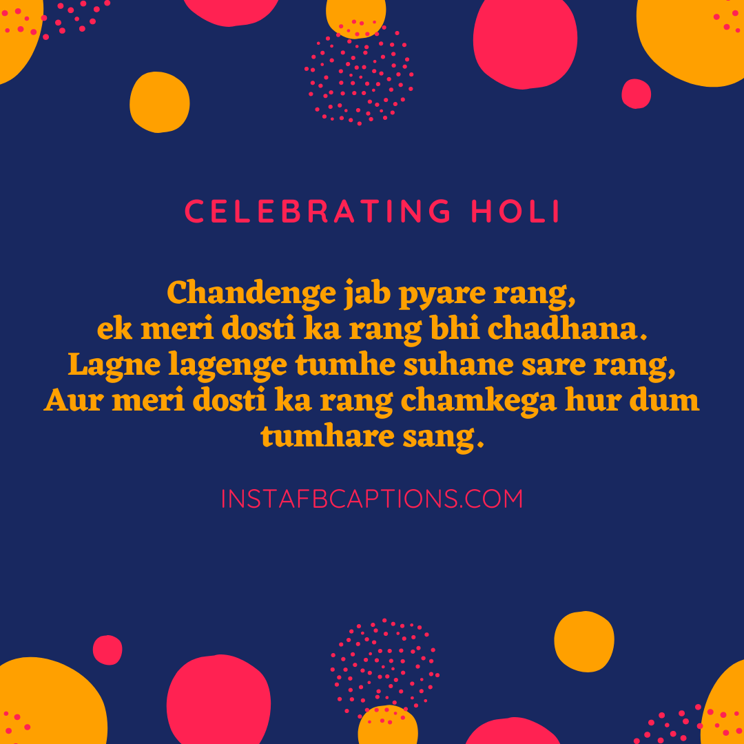 Holi Messages Captions  - Holi Messages Captions - 150+ Best HOLI Instagram Captions, Quotes & Wishes 2021