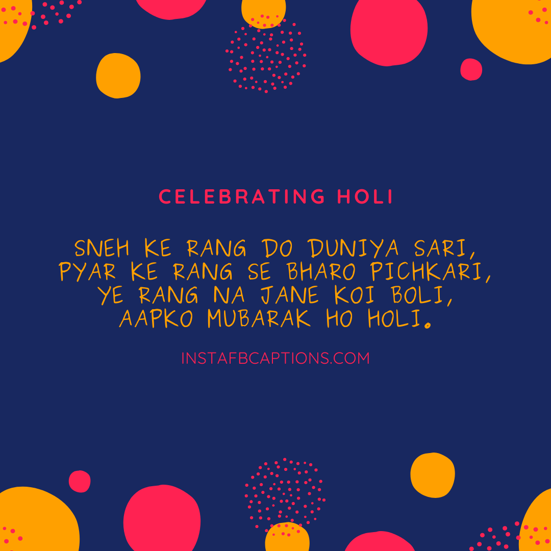 Holi Wishes Captions  - Holi Wishes Captions - 150+ Best HOLI Instagram Captions, Quotes & Wishes 2021