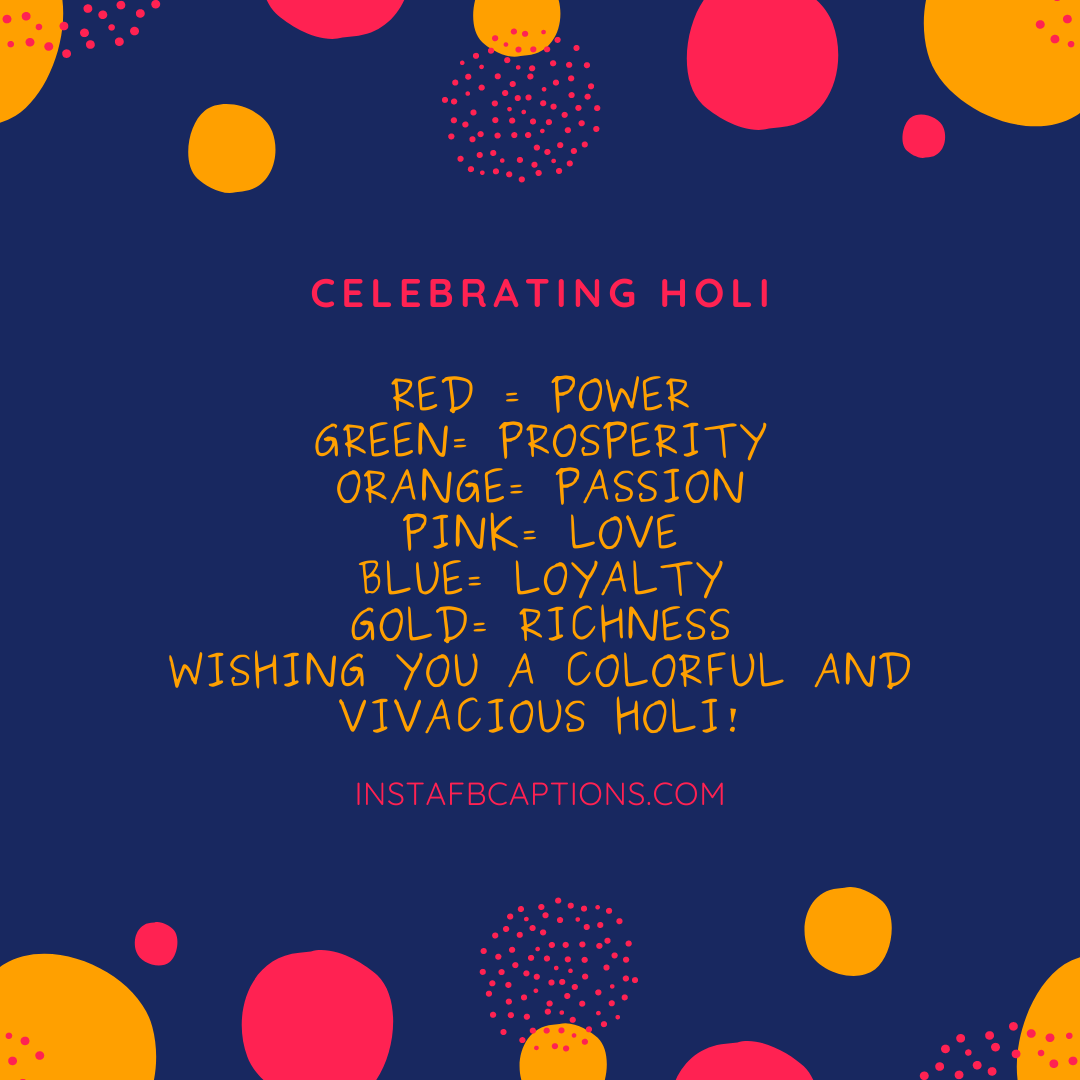 Quirky Holi Captions  - Quirky Holi Captions - 150+ Best HOLI Instagram Captions, Quotes & Wishes 2021