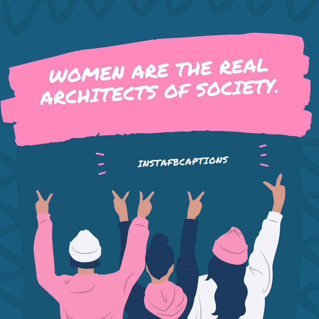 Female Empowerment Instagram Captions  - Female Empowerment Instagram Captions - WOMEN's Day Instagram Captions & Quotes 2021