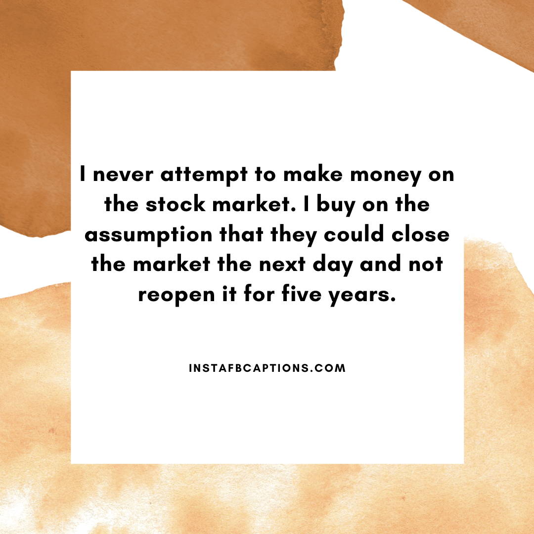 Funny Stock Market Captions  - Funny Stock Market Captions - 83+ Stock Market Quotes & Captions for Successful Investments in 2021