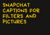 Snapchat Captions For Filters And Pictures  - Snapchat Captions for Filters and Pictures 100x70 - Best Instagram Captions of All Time