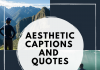 Aesthetic Captions And Quotes  - Aesthetic Captions and Quotes 100x70 - Best Instagram Captions of All Time