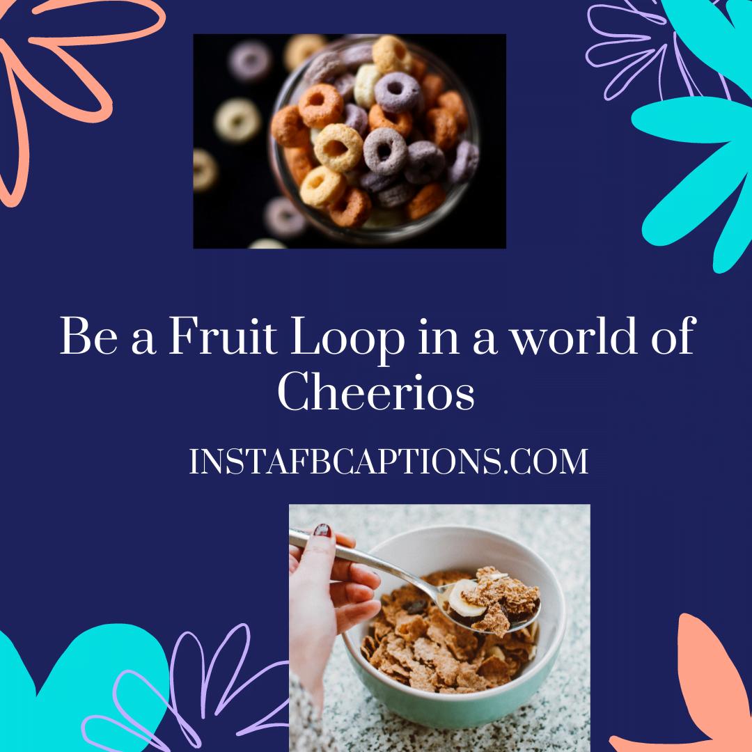 Breakfast Cereal Captions For Instagram  - Breakfast Cereal Captions for Instagram - 99+ Cereal Bowl Captions & Sayings for Instagram in 2021
