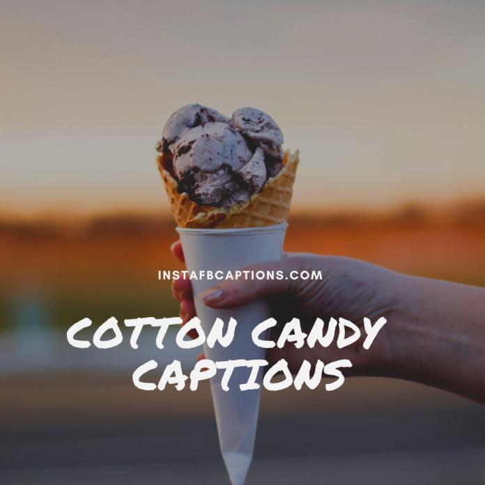 Cotton Candy Captions