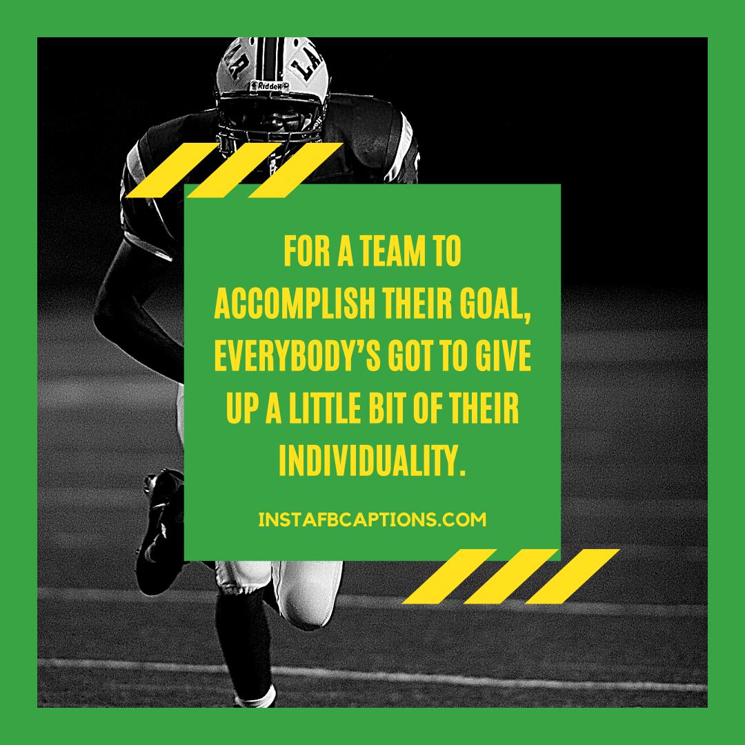 Football Coaching Captions  - Football Coaching Captions - 84 Best Coaching Captions & Quotes for Mentoring on Instagram