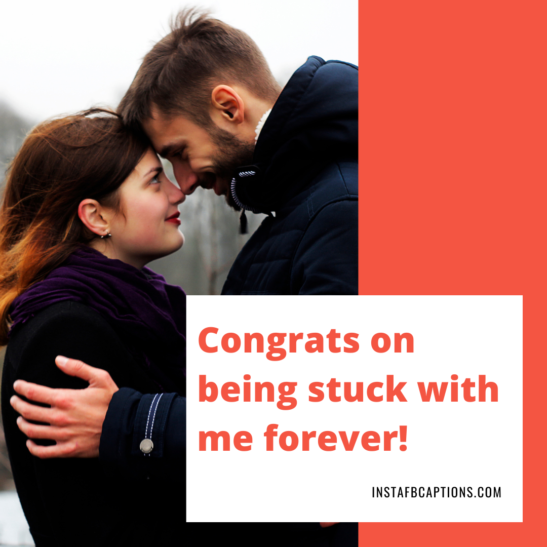 Funny Wedding Day Captions For Chill Couples   - Funny Bride To Be Captions for Chill Couples  - Ready for your Bridal Shower? 96+ Instagram Captions, Quotes, and Notes you need
