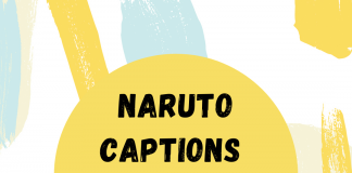 Naruto Captions For Instagram