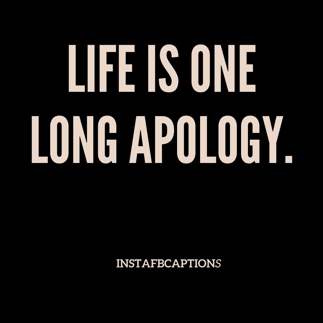 Sad Apology Captions  - Sad apology Captions - 100+ Sorry Captions & Quotes for Apology in 2021