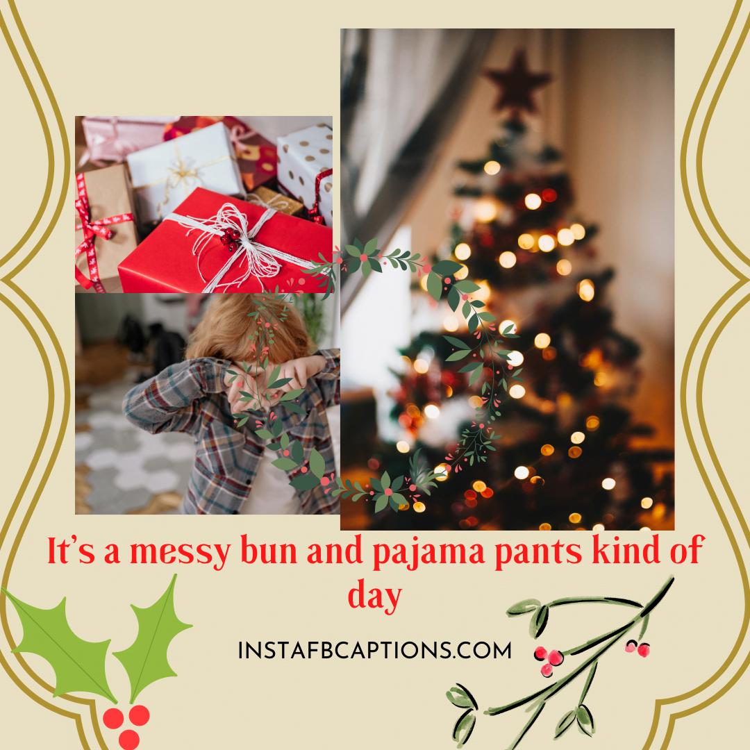 Christmas Pajama Captions Comfy X'mas  - Christmas Pajama Captions Comfy XMas - Pajama Captions For Instagram Photos With Comfy Sleepwear in 2021