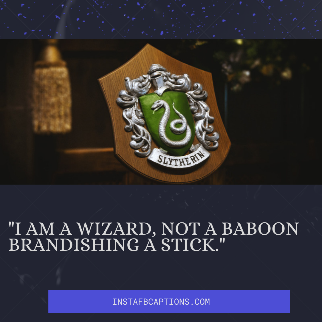 Evil House Slytherin Captions In Harry Potter  - Evil House Slytherin Captions in Harry Potter - Harry Potter Captions for Sketches & Instagram Pictures in 2021