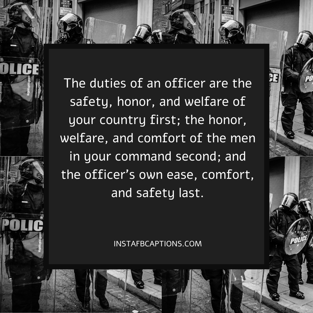 Instagram Status And Story Quotes For Police Officers  - Instagram Status and Story Quotes For Police Officers - 74 POLICE Captions, Quotes, & Bios for Instagram in 2021