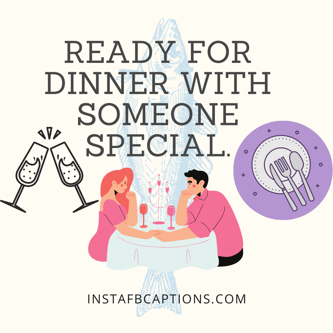 Love Is In The Air! Candle Light Dinner Captions  - Love is in the Air Candle Light Dinner Captions - Dinner Instagram Captions & Quotes That Will Fill You Up in 2021