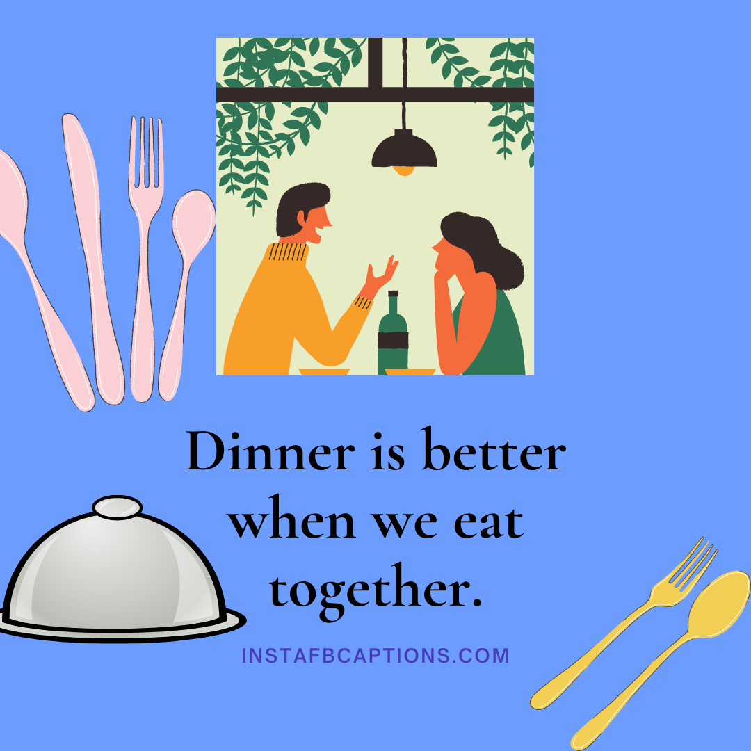 Party Every Friday Friday Night Dinner Captions  - Party Every Friday Friday Night Dinner Captions - Dinner Instagram Captions & Quotes That Will Fill You Up in 2021