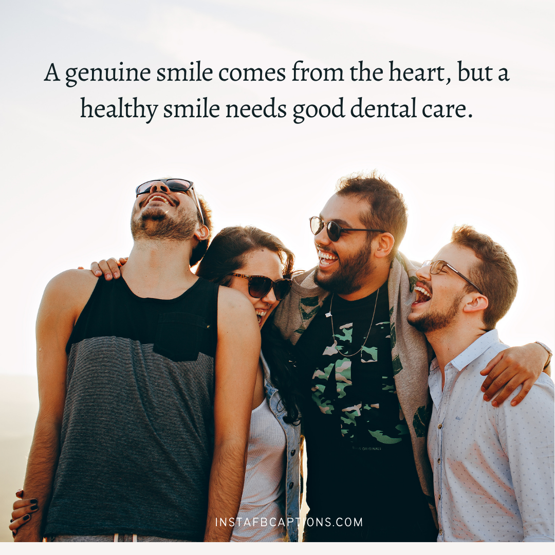 Smile. Sparkle. Shine Best Dental Captions In A Single Line   - Smile - 95+ Dental Captions Perfect Smiles and Sparkling Teeth in 2021