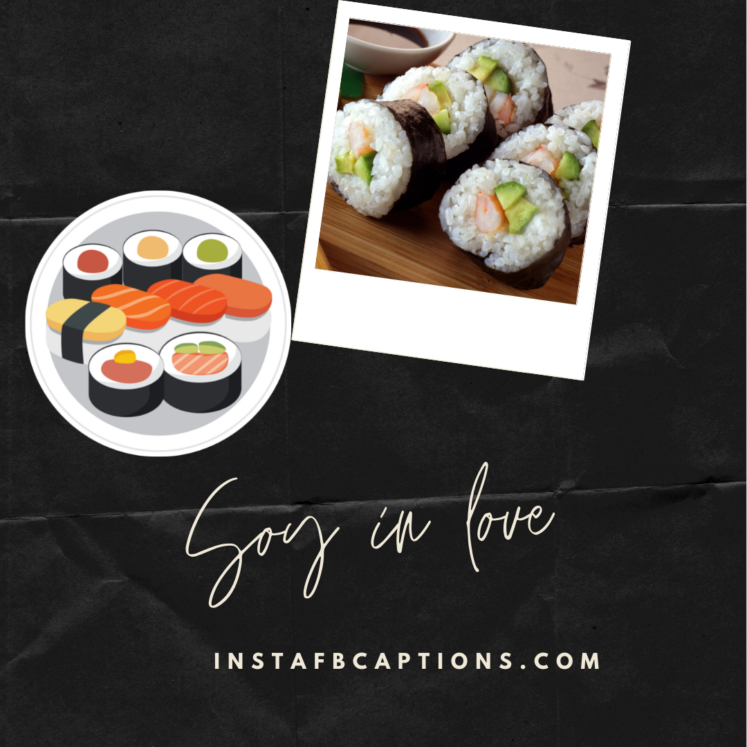 Sushi Captions And Puns Soymates Forever  - Sushi Captions And Puns Soymates Forever - 300+ SUSHI Instagram Captions to use in 2021