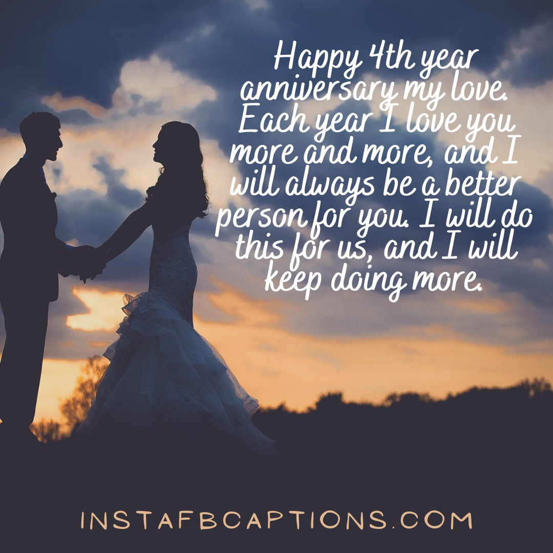Newbie 4th Anniversary Captions For Instagram  - Newbie 4th Anniversary Captions for Instagram - 4th Year Anniversary Instagram Captions and Quotes in 2021
