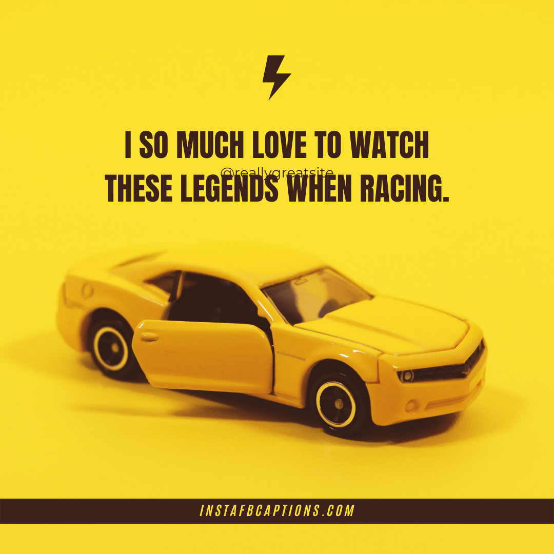 Race Car Captions (1)  - Race Car Captions 1 - New CAR Instagram Captions  for Car Lovers in 2021