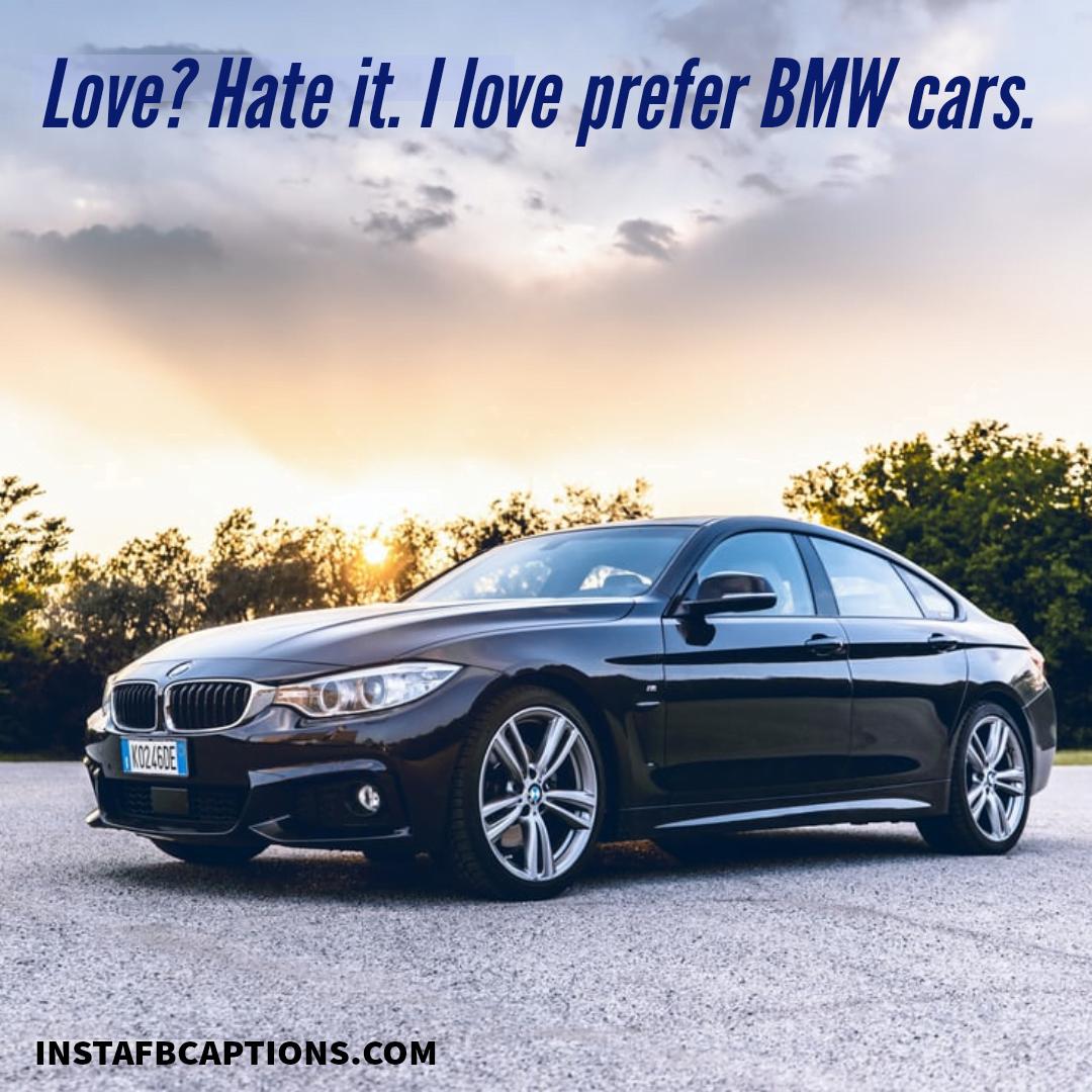 Roaring Bmw Instagram Quotes  - Roaring BMW Instagram Quotes - BMW Instagram Captions & Quotes for Car Love in 2021