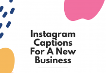 Instagram Captions For A New Business
