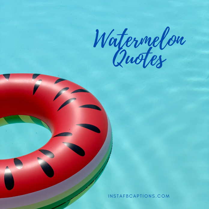 Watermelon Quotes